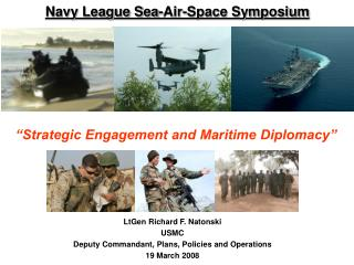 Navy League Sea-Air-Space Symposium