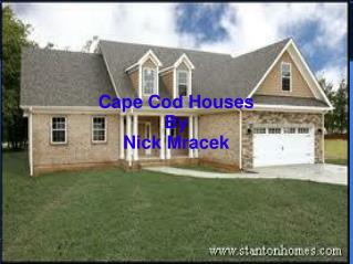 Cape Cod Houses By Nick Mracek