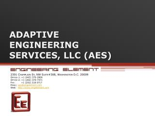 ADAPTIVE  ENGINEERING  SERVICES, LLC AES