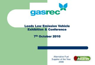 Leeds Low Emission Vehicle Exhibition  Conference  7th October 2010