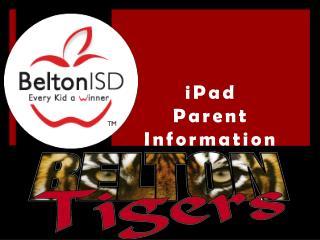 iPad Parent Information