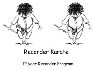 Recorder Karate