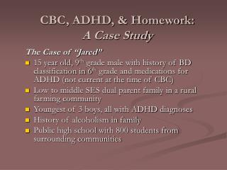 adhd case study assignment In the adhd case study, transform the data in the placebo condition (d0) with λ&#39s of 5, 0, -5, and -1 how does the skew in each of these compare to the skew in the raw data.