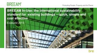 Ecobuild 2013