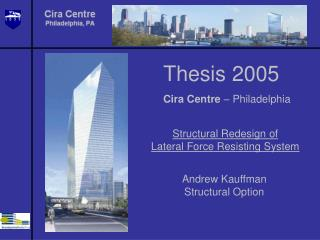 Thesis 2005