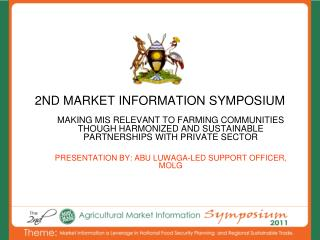 2ND MARKET INFORMATION SYMPOSIUM
