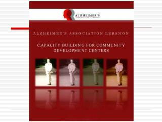 CAPACITY BUILDING FOR COMMUNITY DEVELOPMENT CENTERS - BEIRUT - LEBANON
