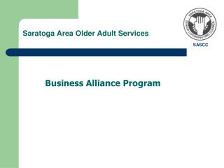 Saratoga Area Older Adult Services