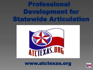 Professional Development for Statewide Articulation