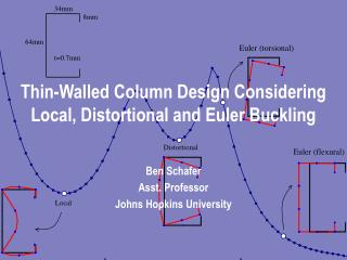 Thin-Walled Column Design Considering Local, Distortional and Euler Buckling