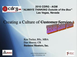 Creating a Culture of Customer Service