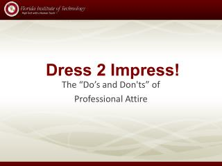 Dress 2 Impress!