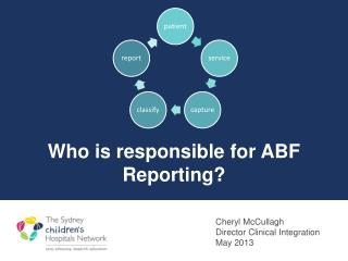 Who is responsible for ABF Reporting?  Journey so far...