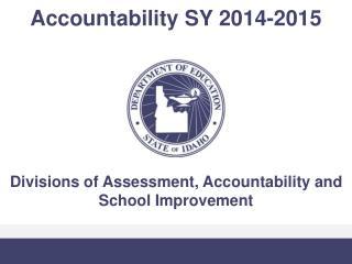 Accountability SY 2014-2015