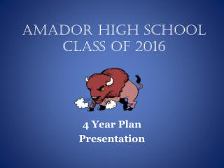 Amador High School Class of 2016