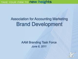 Association for Accounting Marketing  Brand Development