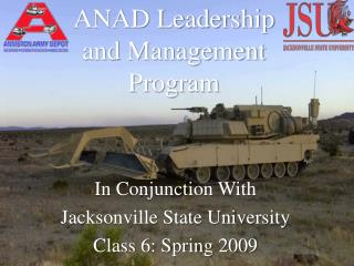 ANAD Leadership and Management Program