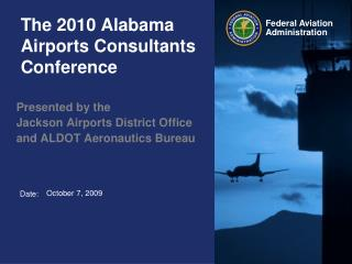 The 2010 Alabama Airports Consultants Conference