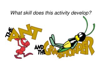 What skill does this activity develop?