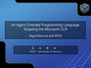 An Agent-Oriented Programming Language Targeting the Microsoft CLR [AgentService and APX]