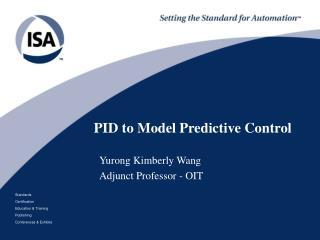 PID to Model Predictive Control