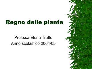 Regno delle piante