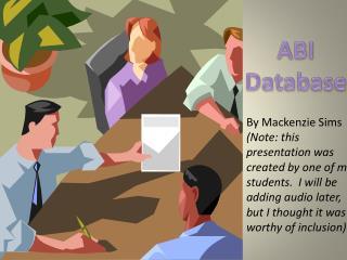 ABI Database