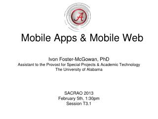 Mobile Apps & Mobile Web