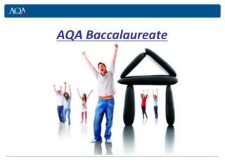 AQA Baccalaureate