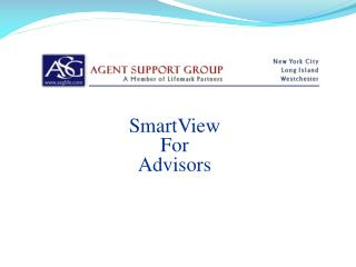 SmartView For  Advisors