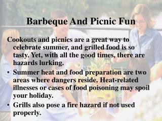 Barbeque And Picnic Fun