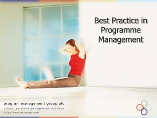Best Practice in Programme Management