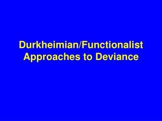 Durkheimian