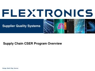Supplier Quality Systems