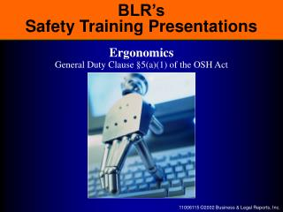 BLR's Safety Training Presentations