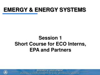 EMERGY  ENERGY SYSTEMS