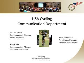 USA Cycling  Communication Department