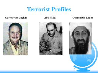 Terrorist Profiles