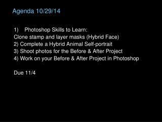 Agenda 10/29/14