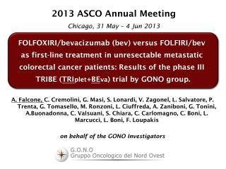 FOLFOXIRI/ bevacizumab ( bev ) versus FOLFIRI/ bev