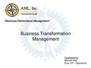Business Transformation Management