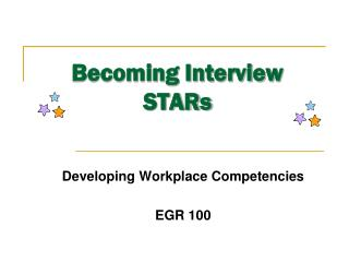 Becoming Interview STARs