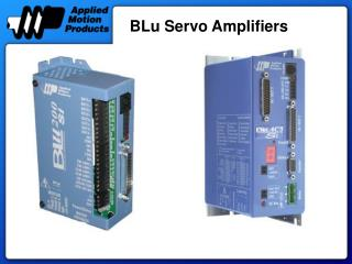 BLu Servo Amplifiers