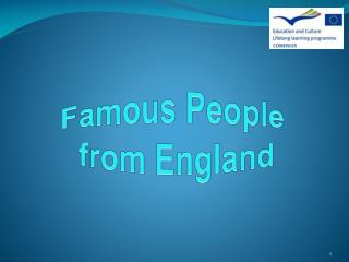 Famous People  from England