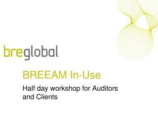 BREEAM In-Use