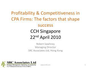 Robert Sawhney Managing Director SRC Associates Ltd, Hong Kong