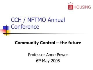 CCH / NFTMO Annual Conference