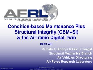 Condition-based Maintenance Plus Structural Integrity (CBM+SI)  & the Airframe Digital Twin