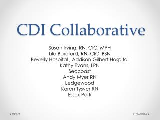 CDI Collaborative