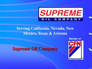 Supreme Oil Company